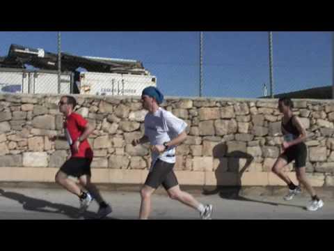 Landrover Malta Marathon 2010 - with the Austrian ...