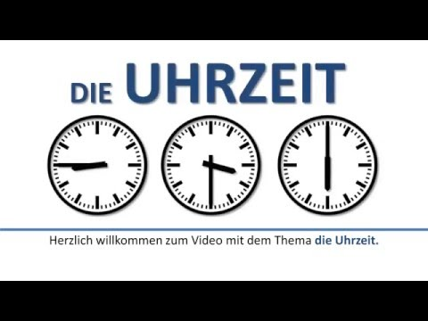 deutsch lernen die uhrzeit umgangssprachlich deutsche untertitel the colloquial time youtube. Black Bedroom Furniture Sets. Home Design Ideas