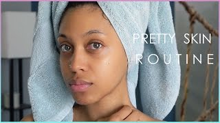 HOW TO LOOK BEAUTIFUL WITH NO MAKEUP | SKINCARE ROUTINE