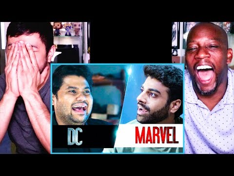 If DC & MARVEL WERE ROOMMATES | Badri Chavan | Rohan Khurana | Reaction | Jaby Koay & Syntell