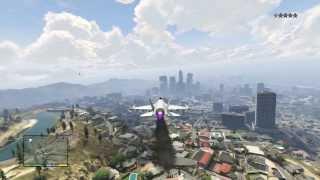 GTA 5 - Cómo robar un avión caza