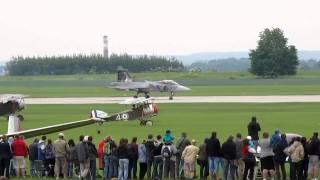 Čáslav-letecký den 28.5.2011, Saab JAS-39 Gripen, L-159, Open Day Air Show.wmv
