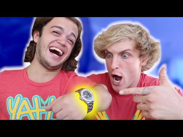 I BOUGHT MY ROOMMATE A $20,000 ROLEX! (surprise)