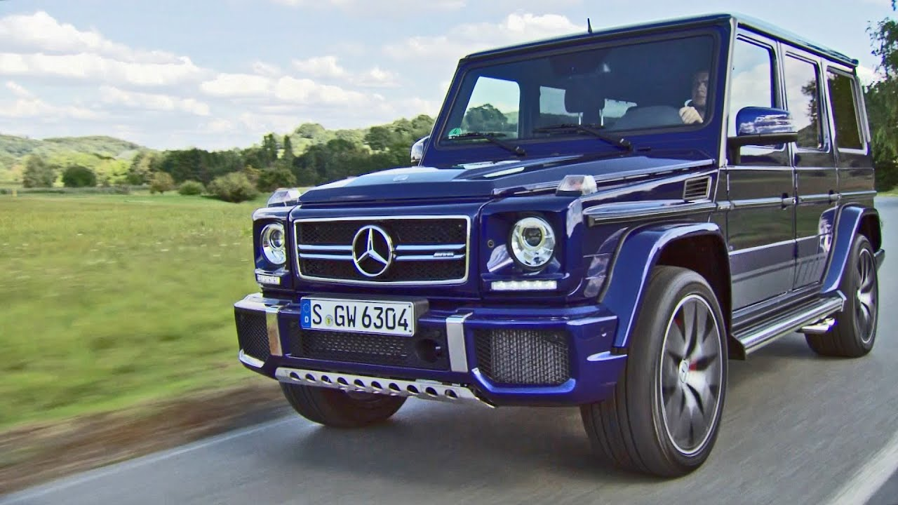 2016 Mercedes G63 AMG Edition 463 - Footage - YouTube