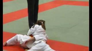 Roos-Marie wordt tweede bij Open Helderse judokampioenschappen