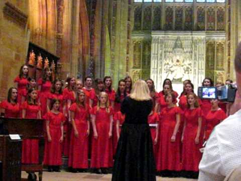 A Red, Red Rose by Robert Burns, music by Ruth Elaine Schram