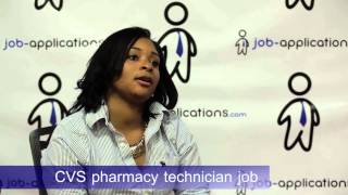 CVS Interview - Pharmacy Technician