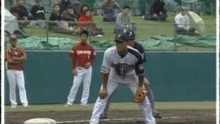 横川史学選手 またもやホームラン(2009.02.23)