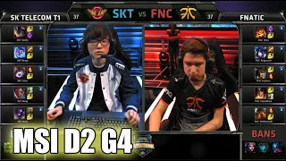 SK Telecom T1 vs Fnatic | MSI Group Stage Day 2 Mid Season Invitational 2015 | SKT vs FNC MSI 60FPS