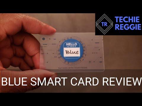 Business Card Tech? | Blue Smart Card | Instagram Grabs Ep. 1