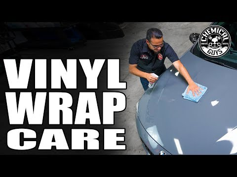 How To Care For Vinyl Wraps - 2016 BMW M4 - Chemical Guys Car Care