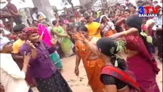 Banjara People Dance DJ Songs in Teej Festival   3TV BANJARA
