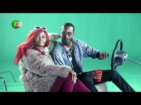 Watch how Clarence peters made 'Basiri mi' video for 9ice at Koga studios