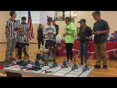 Triton Middle School Veteran's Day VEX IQ Robotics Tournament