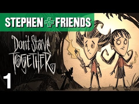 Don't Starve Together #1 •I'M SO HUNGRY!!