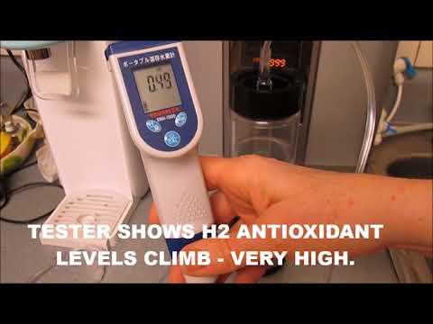 High Rich Extra Hydrogen Gas Inhaler Testing