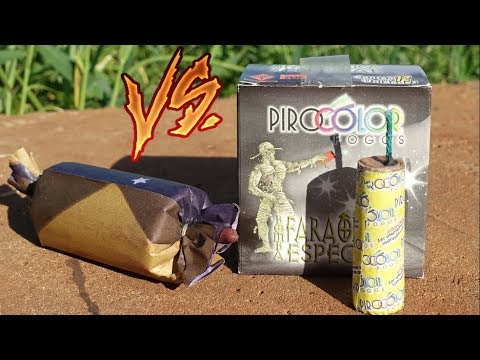 BOMBA FARAÔNICA vs SUPER BOMBA ‹ Ravanha ›