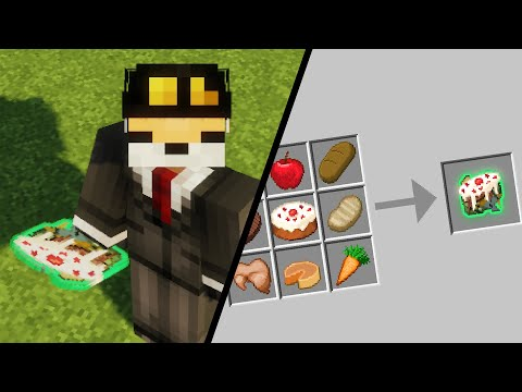 So I mixed every Minecraft Food Item Together... (Cursed)