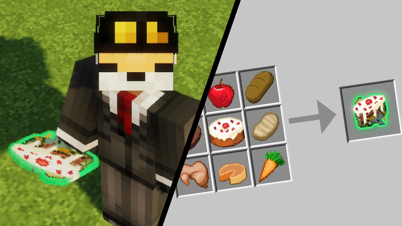 So I mixed every Minecraft Food Item Together (Cursed)