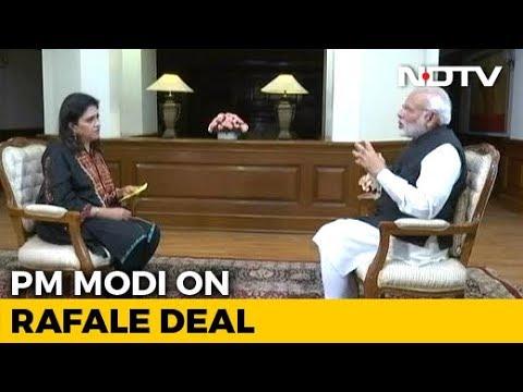 """Congress Weakening Armed Forces By Making False Rafale Claims"": PM Modi"