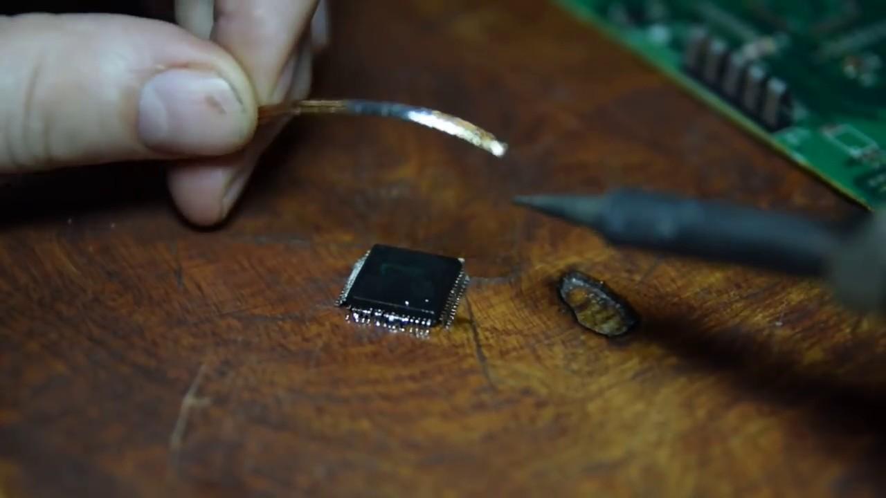 Пайка электронных модулей стиральных машин