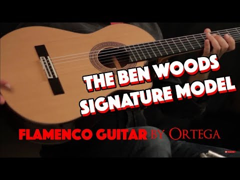 BEN WOODS SIGNATURE GUITAR by Ortega - BWSM Flamenco Guitar
