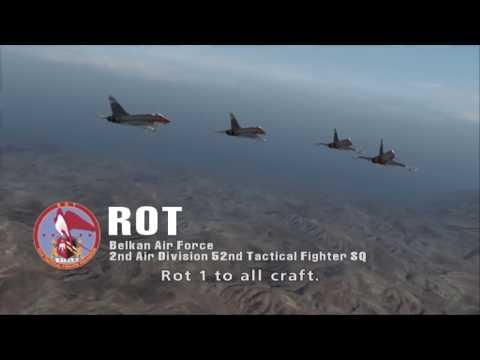 Ace Combat Zero - All Squadron Intros