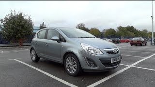 2012 Vauxhall Corsa 1.4i 16v VVT 100 SE (5-door) Start-Up and Full Vehicle Tour