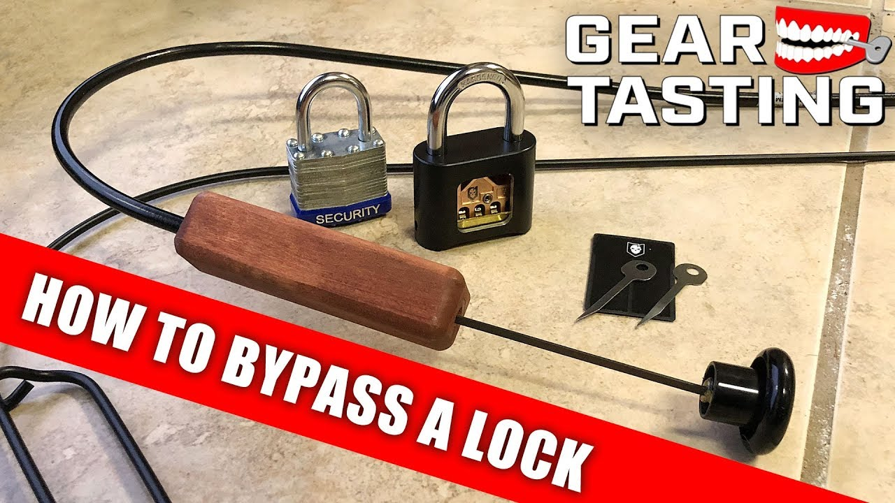 How to Bypass a Lock - Gear Tasting 122 - YouTube