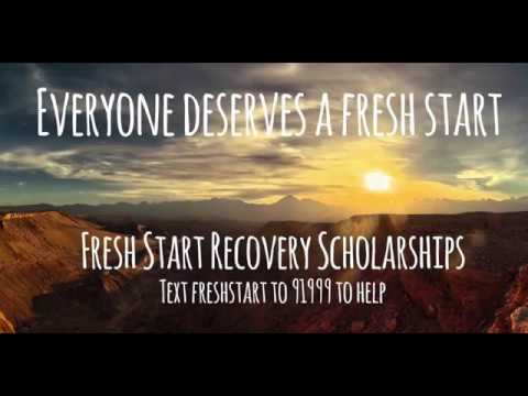 Help Folks In Recovery Get a Fresh Start!