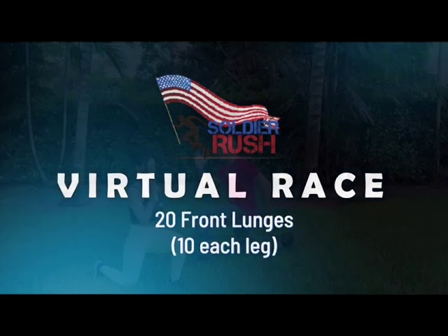 Soldier Rush Virtual Race 2020