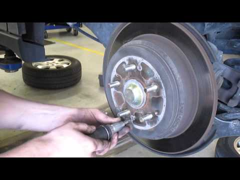 Rear Parking Brake Honda - YouTube