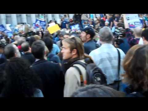 Occupy Wall Street Treehugger