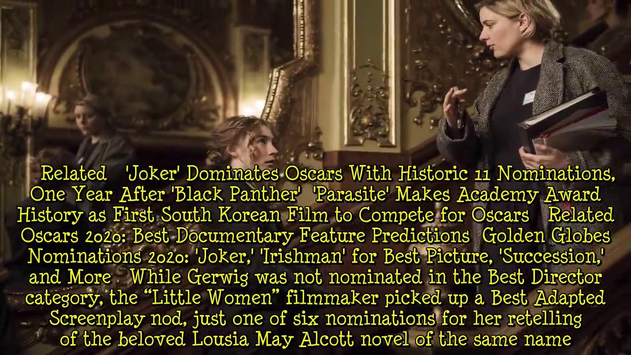 Oscars 2020 Shut Out Female Filmmakers in Best Director Race (Again) [News]