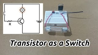 Using a Transistor as a Switch