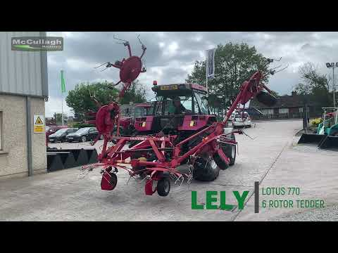 lely Lotus Tedder