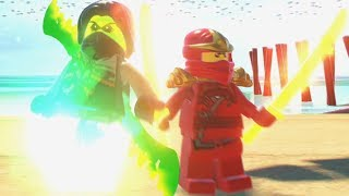 LEGO Ninjago Movie Video Game - All Playable Characters Unlocked - Free Roam Gameplay HD