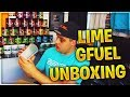 LIME / GFUEL CARE PACKAGE UNBOXING