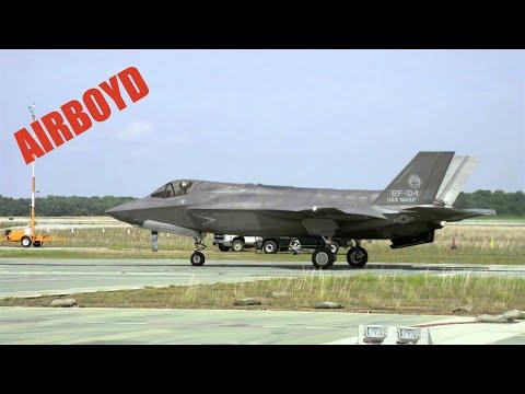 """F-35 """"Jump Jet"""" Test"""