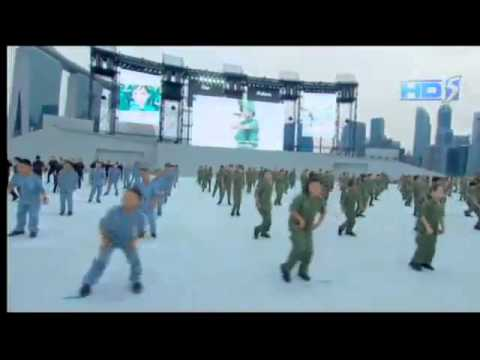 National Day Parade 2013  Ah Boys To Men singing ABTM 1 Theme Song  Recruits Anthem