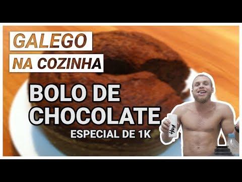COMO FAZER BOLO DE CHOCOLATE DE CAIXINHA (especial de mil inscritos) - galego na cozinha #5