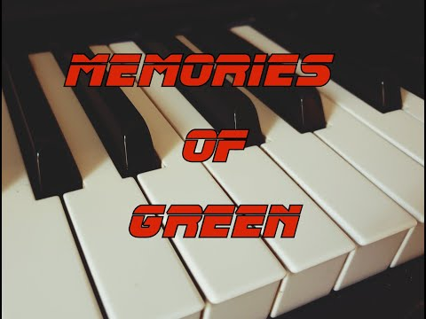 Memories of Green - Blade Runner (Piano Arrangement)