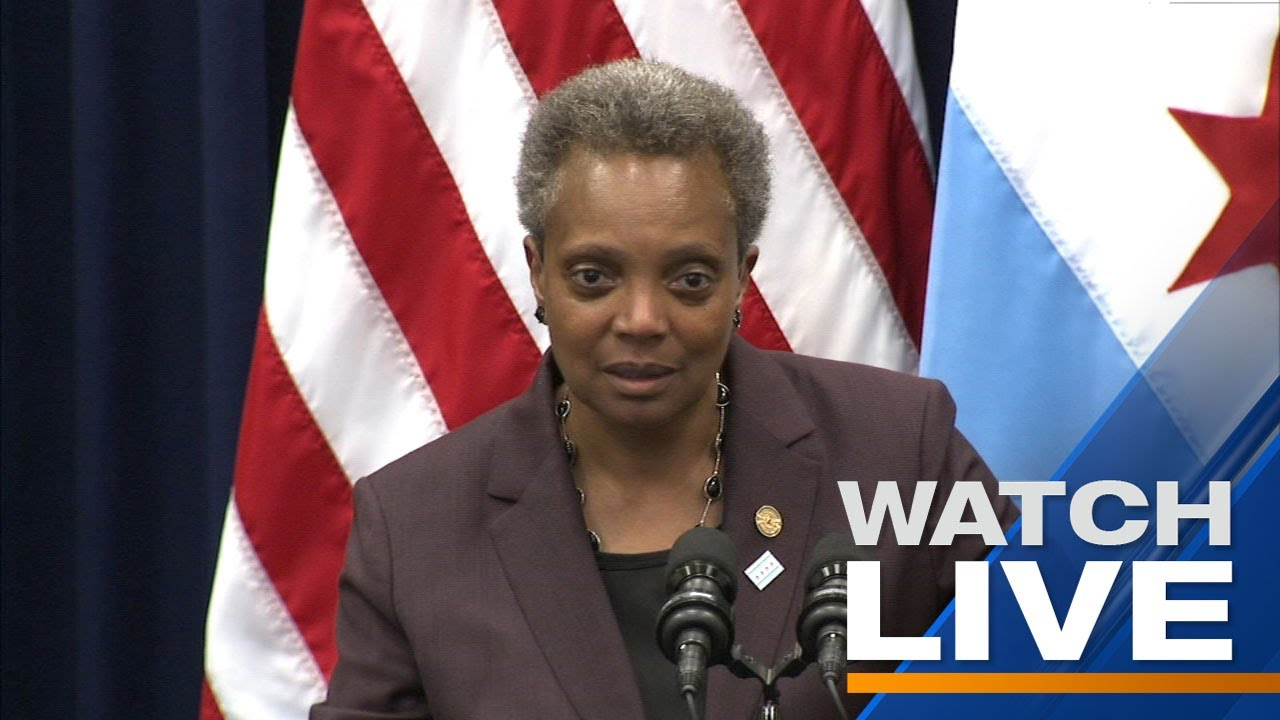 Download LIVE: Mayor Lori Lightfoot declares racism a public health crisis in Chicago