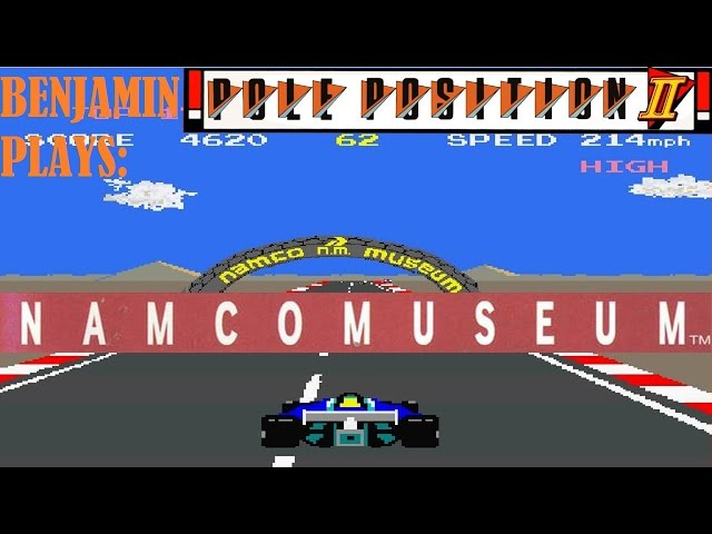 Let's Play: Namco Museum (PlayStation): Pole Position II