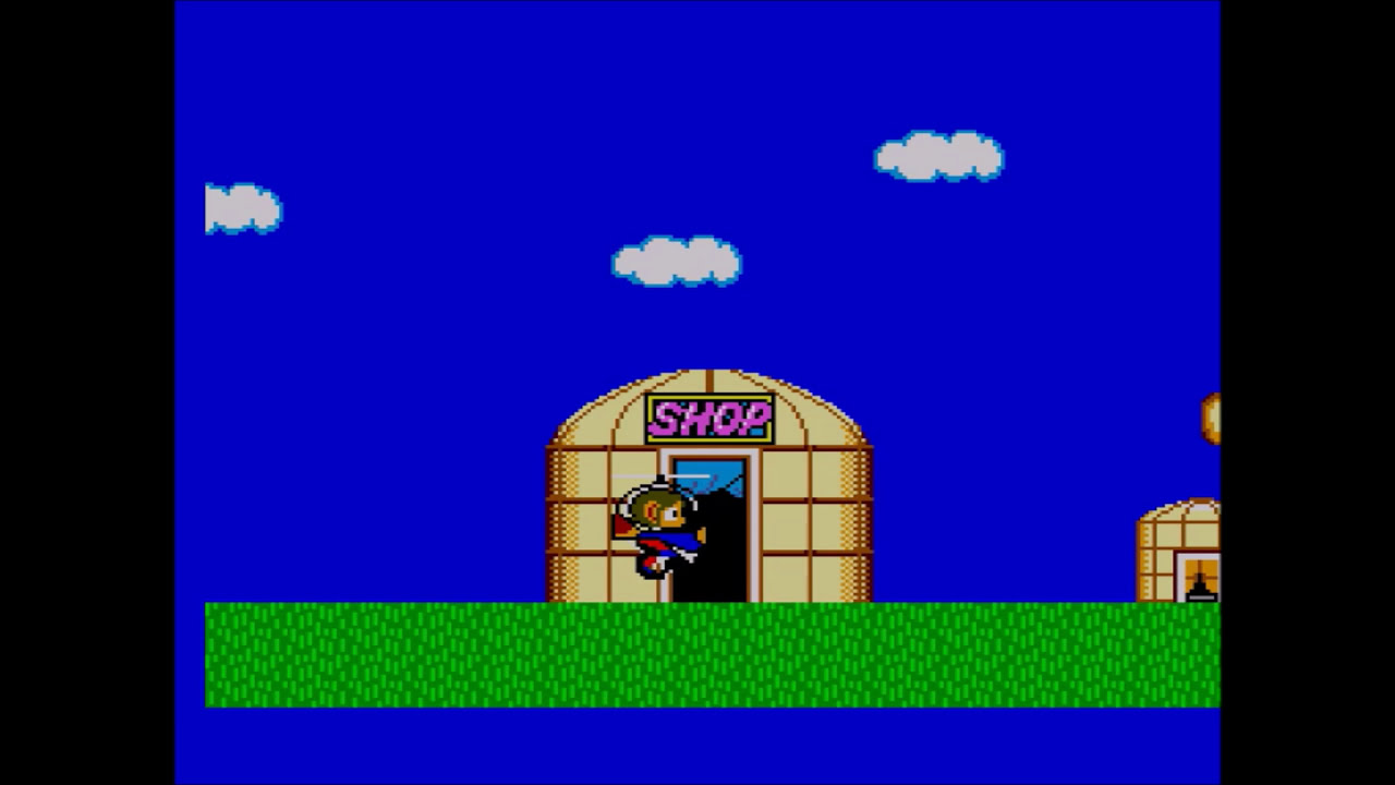 Alex Kidd In Miracle World Master System Walkthrough Youtube