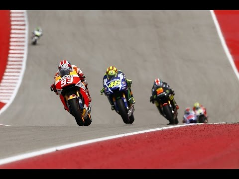 motogp austin 2015 full race review - marc marquez win the battle