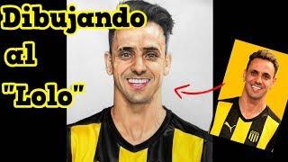 Dibujando al Lolo Fabián Estoyanoff - Club Atlético Peñarol