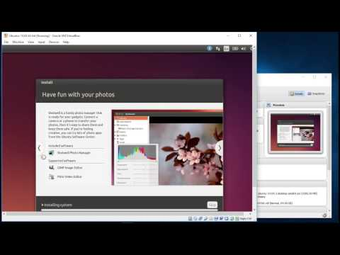 Install Ubuntu 14.04 LTS On Windows 10/VirtualBox
