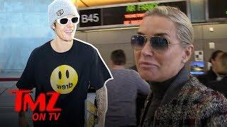 Yolanda Hadid's Mentoring Justin Bieber Through Lyme Disease | TMZ TV