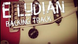 e lydian backing track - steve vai style